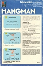 Gamevision Hangman Box Back